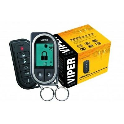 Viper LCD pager Car alarm & Remote Start 5304v Supplied & Fitted