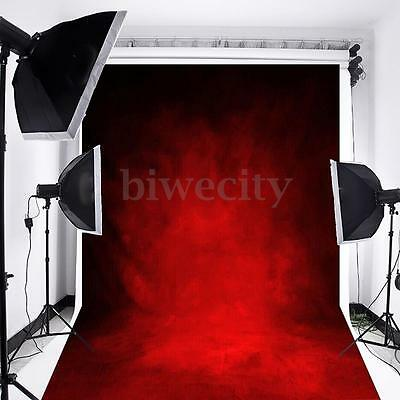 5x7FT Retro Abstract Red Photo Backdrop Photography Background Studio Props Prop