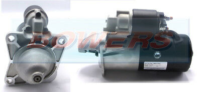 BRAND NEW STARTER MOTOR 12V 9 TOOTH DRIVE 2.1kW C/W REPLACING BOSCH LANDROVER