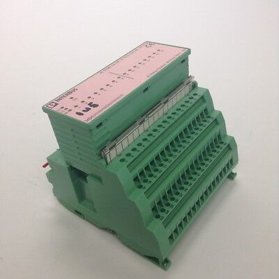 Phoenix Contact 2721112 relay output module IB ST 24 DO 16R/S Used UMP