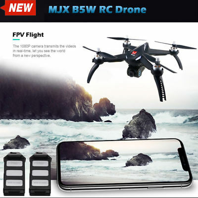 MJX Bugs 5W B5W WiFi FPV Brushless RC Drone Quadcopter with 1080P Camera GPS