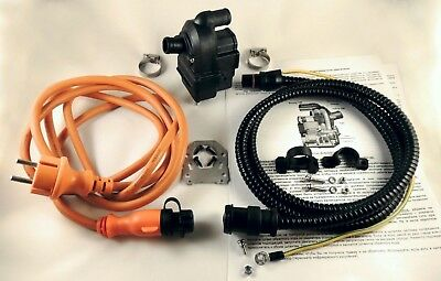 Engine coolant pre-heater 220-240 V, 60 °C, with cables