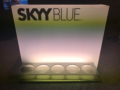 Skyy Vodka Blue Bar Light - Collectables
