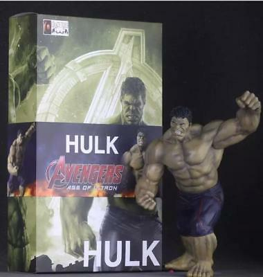 40cm CRAZY TOYS Marvel The Avengers Hulk Superhelden Modelle Figuren Mit Box
