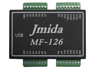 USB DATA ACQUISITION MF126 14AI 4AO 10DIO PWM CNT and Free Software &Driver