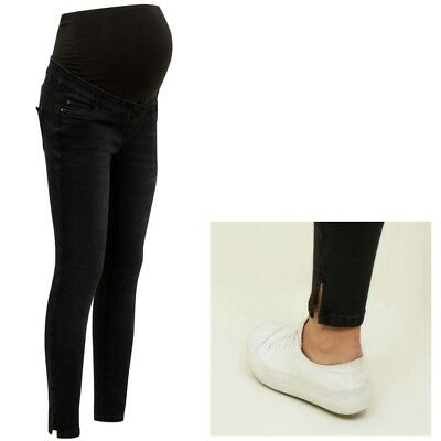 Maternity New Look Over Bump Jeans Black Sizes 8 - 18