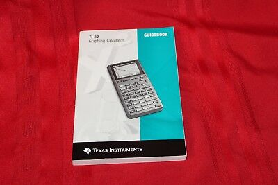TI-82 Graphing Calculator Guidebook Texas Instruments