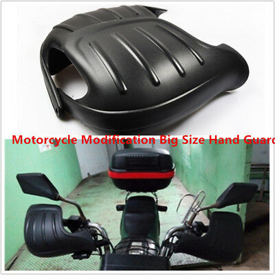 "2PCS Black Motorcycle Hand Guard Fall Protector For 7/8"" 22mm Handlebar PP Solid"