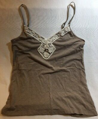 4f3ba76b1e530 American Eagle Outfitters Women s Brown Sleeveless Tank Top Cami Size M