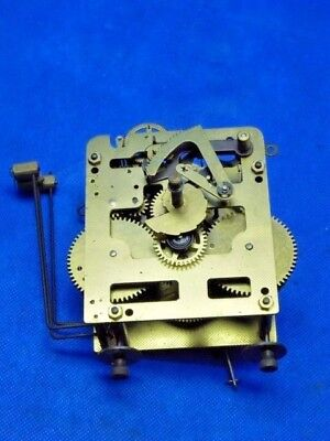 Antique / Vintage Tempus Fugit Western Germany Wall Chiming Clock Movement