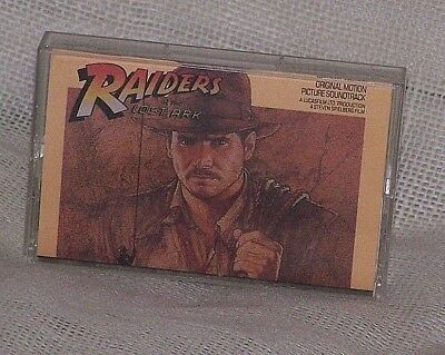RAIDERS OF THE LOST ARK SOUNDTRACK CASSETTE 1981 - free shipping