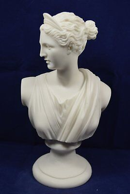 Artemis Diana bust sculpture Ancient Greek Goddess of hunt statue