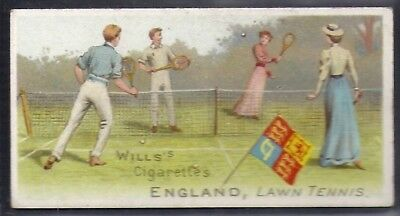 Wills-Sports Of All Nations-#12- Lawn Tennis - England