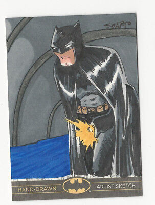 Batman:The Legend 2013 Cryptozoic DC Sketch Card by Luke Smarto 1/1