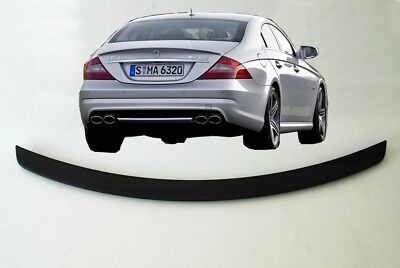 Mercedes Cls Class W219 04-10 Amg Look Rear Boot Trunk Lid Spoiler Lip Wing Abs