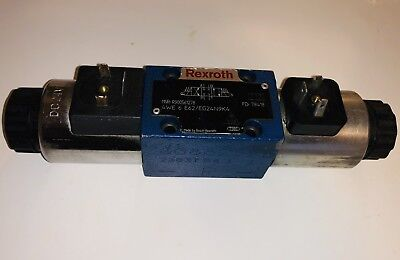 New Rexroth R900561278 Directional Spool Valve, Dual Solenoid Operated 24VDC
