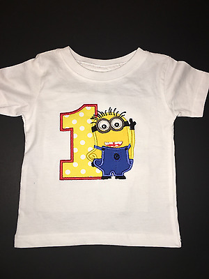 MICKEY MOUSE MY 1st Birthday Embroidered T Shirt Keepsake