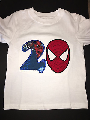 ab2d226f Personalized Amazing Spiderman Birthday T Shirt Source · SPIDERMAN BIRTHDAY SHIRT  Personalized Custom t Shirt Family Spider