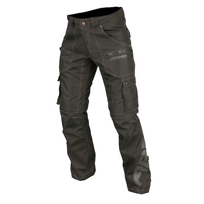 Armr Moto Indo 2 Waterproof Motorcycle Trousers Cargo Pants Jeans Bike Textile
