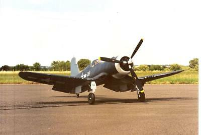 CHANCE-VOUGHT F4U-1 CORSAIR (Spannweite: 2082mm). Modellbauplan
