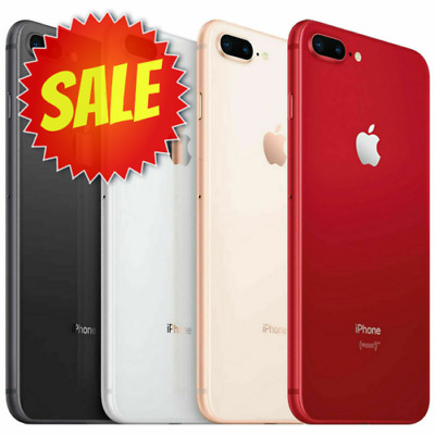 Apple iPhone 8 PLUS (Factory Unlocked, Verizon, AT&T, T-Mobile) 64GB 256GB 8+