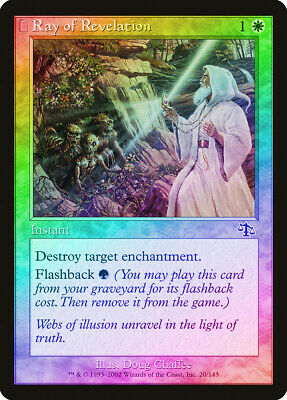 1 PLAYED Prismatic Strands White Judgment Mtg Magic Common 1x x1