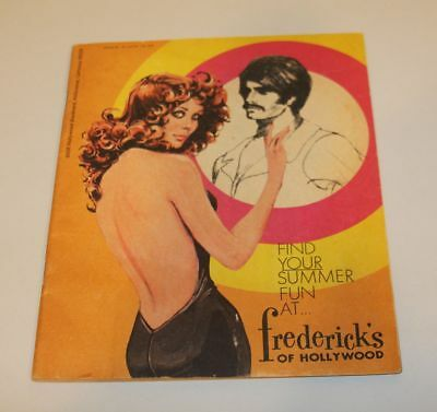 Frederick's of Hollywood Catalog 1972 Issue 26 Volume 132 Find Your Summer Fun