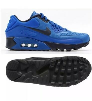 competitive price 11fd4 e4987 DS Men s NIKE AIR MAX 90 ULTRA SE Cobalt Blue Sz 10  845039 ...
