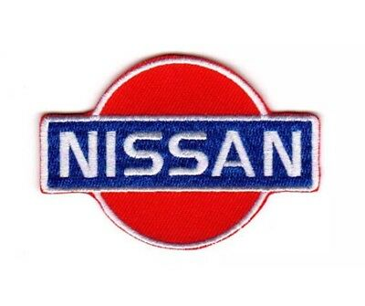 NISSAN Car Patch Sew On  Embroidered 3 x 4-1/2 Iron On Patch