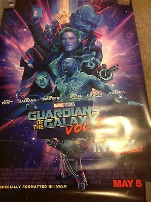 GUARDIANS OF GALAXY VOL 2 4x6 ft Bus Shelter Movie Poster Original 2017