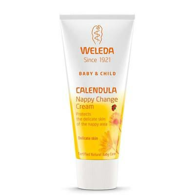 Weleda Baby Organic Calendula Nappy Cream - All Natural Best for Babies 75ml