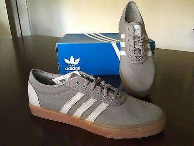 new styles 728d0 63884 Mens Adidas Adi-Ease Skateboarding Shoes Size 13 Gray