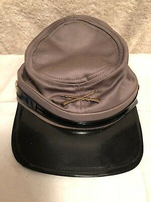 American Souvenir Civil War Style Military Hat Cap Costume Cott Rebel Confederat