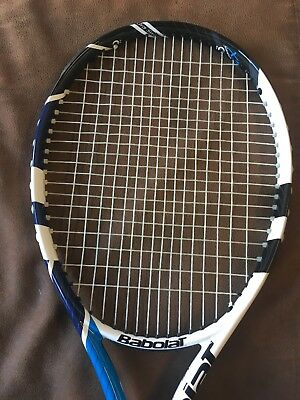 Babolat Xs 102 Xtra Sweetspot Tennis Racket Racquet New Grip 4 3/8 Exc Condition