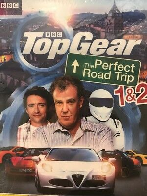 Top Gear The Perfect Road Trip 1 + 2 Region 4 New DVD 2 Disc Set NEW & SEALED