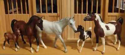 Breyer Classic Horse • Lot Of 5 • Mare Foal Stallion