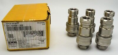 Parker Sh4-62/63W-1062 Coupler And Nipple (Quantity 5)