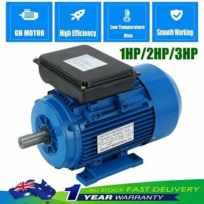 1/2/3HP Single-phase Asynchronous Reversible Motor Dual Voltage Electric Motor