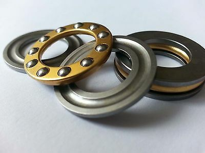 10pcs Axial Ball Thrust Bearing F2-6M 2mm x 6mm x 3mm 2 x 6 x 3 mm