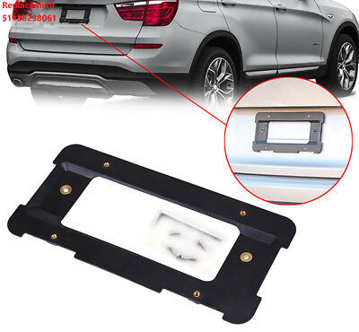 REAR LICENSE PLATE TAG HOLDER MOUNT BRACKET +BOLTS + WRENCH for BMW