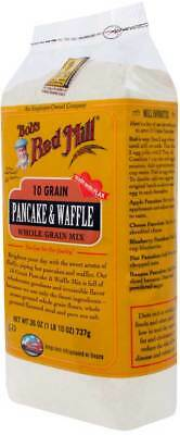Bob's Red Mill 10 Grain Pancake and Waffle Mix 26 oz Case of 4 Kosher
