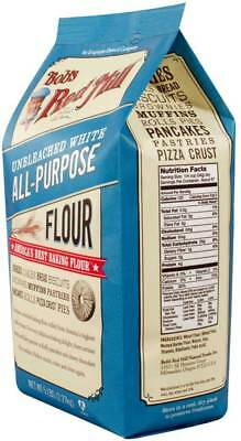 Bob's Red Mill Unbleached White All-Purpose Baking Flour 5 lb Case of 4