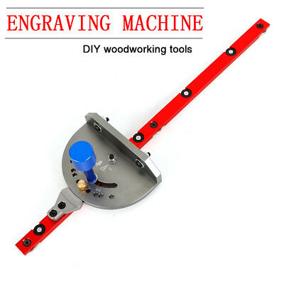 Miter Gauge Wood Working Tool For Bandsaw Table Saw Woodworking DIY Guide USA