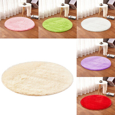 Shaggy Fluffy Anti-Skid Area Rug Home Living Bedroom Bathroom Floor Door Mat Pad