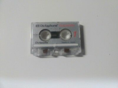 Dictaphone Pico Cassette world's smallest analog tape