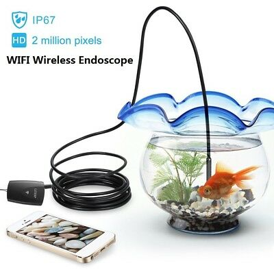 Wireless Endoscope Depstech Wifi Borescope Inspection Camera 2.0 Megapixels EK