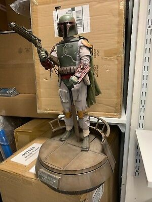 Sideshow Hot Toys 2014 Star Wars Boba Fett Quarter Scale Figure Special Edition