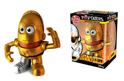 Mr Potato Head Poptaters Star Wars C-3Po Collectors Edition Figure