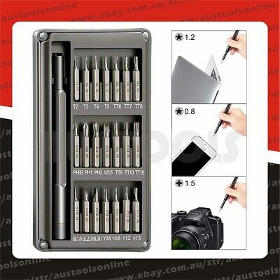 22pcs Small Precision Electronics Screwdriver Set Phone PC Laptop Watch Magnetic