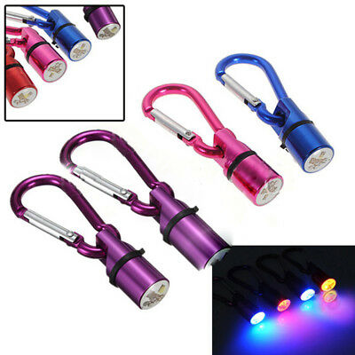 Pet Cat Dog Puppy Safety LED Clip Buckle Night Light Flashing Collar Tag Pendant